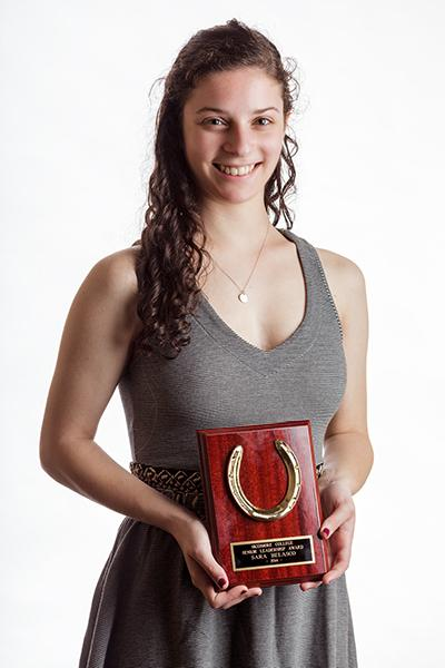 Sara Belasco '14: The SGA Senior Leader Award.