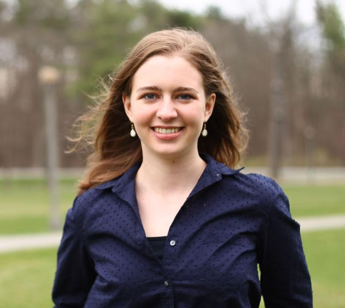 Hannah Smith '16, a History major, is conducting Revolutionary War-related research with the Saratoga National Historical Park at Schuyler House in Stillwater, NY.