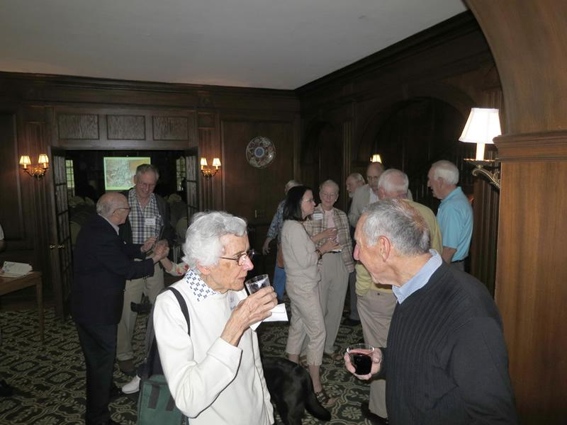 """Wine, Cheese and Chat"" at the Surrey, May 22, 2014"