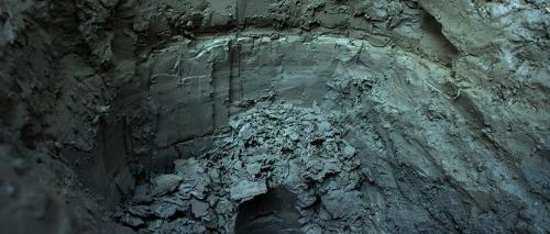 Varved clay has annual layers deposited in lakes as glaciers retreated from upstate New York