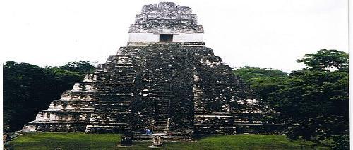 Mayan Tikal Temple 1, Guatemala