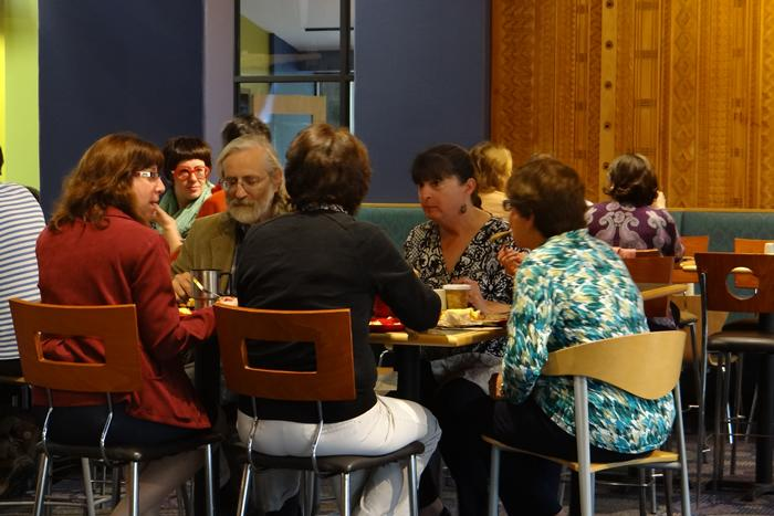 Community Breakfast, September 2014. Photo by: Machum Billah '15