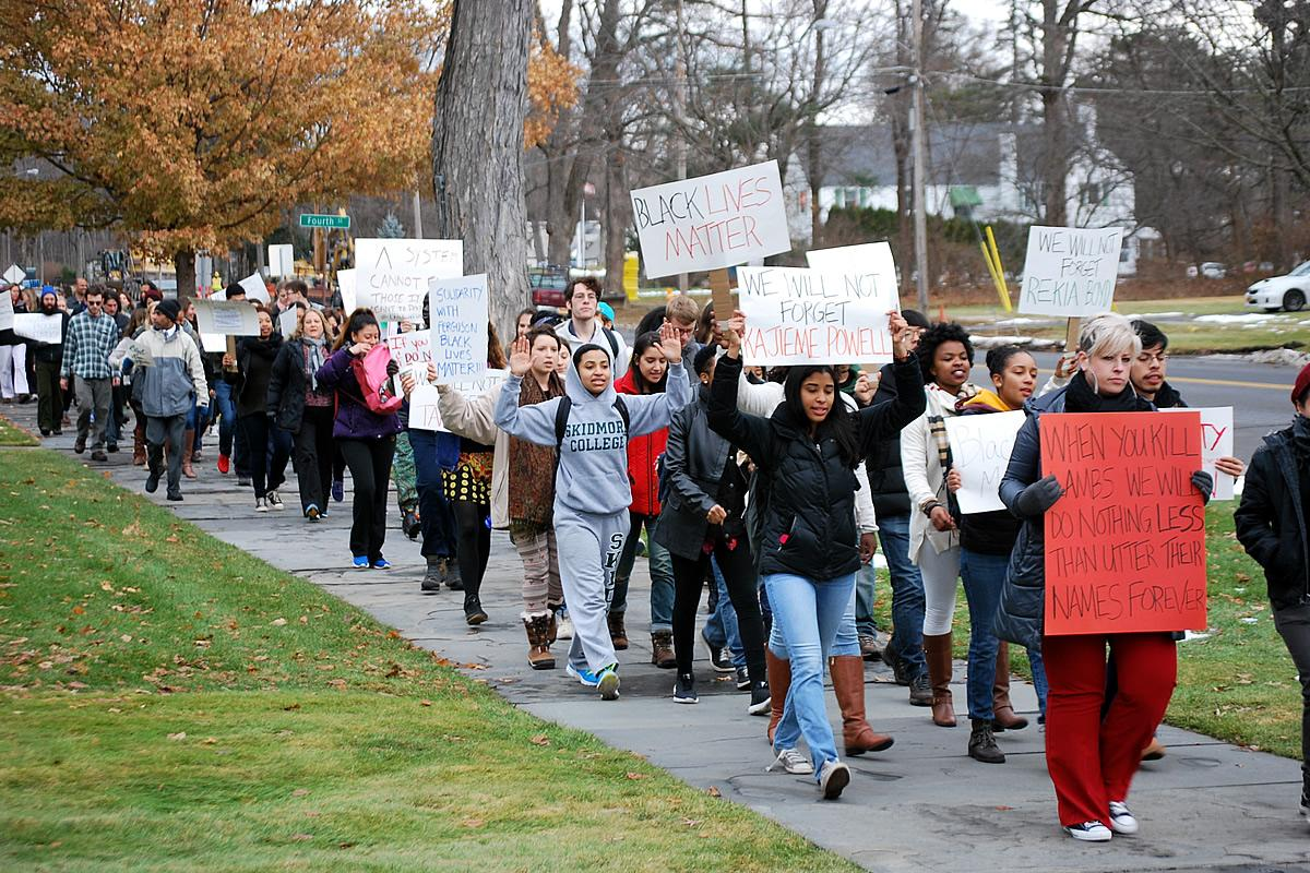 Faculty, Staff and Students - Solidarity Walk, Fall 2014