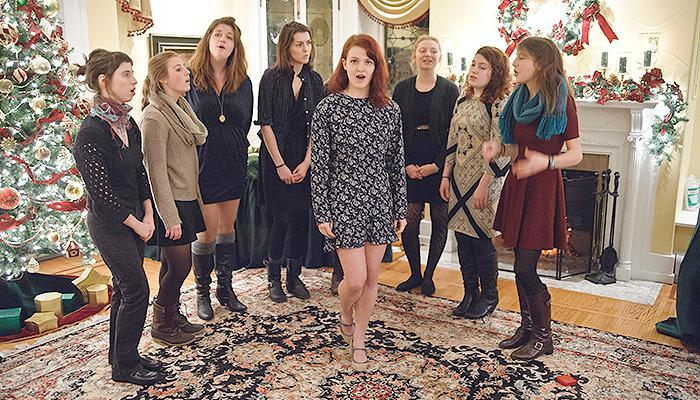 A cappella in Scribner House