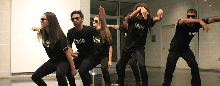 213 Crew showcase (photo by Julie Zeitoun '18)