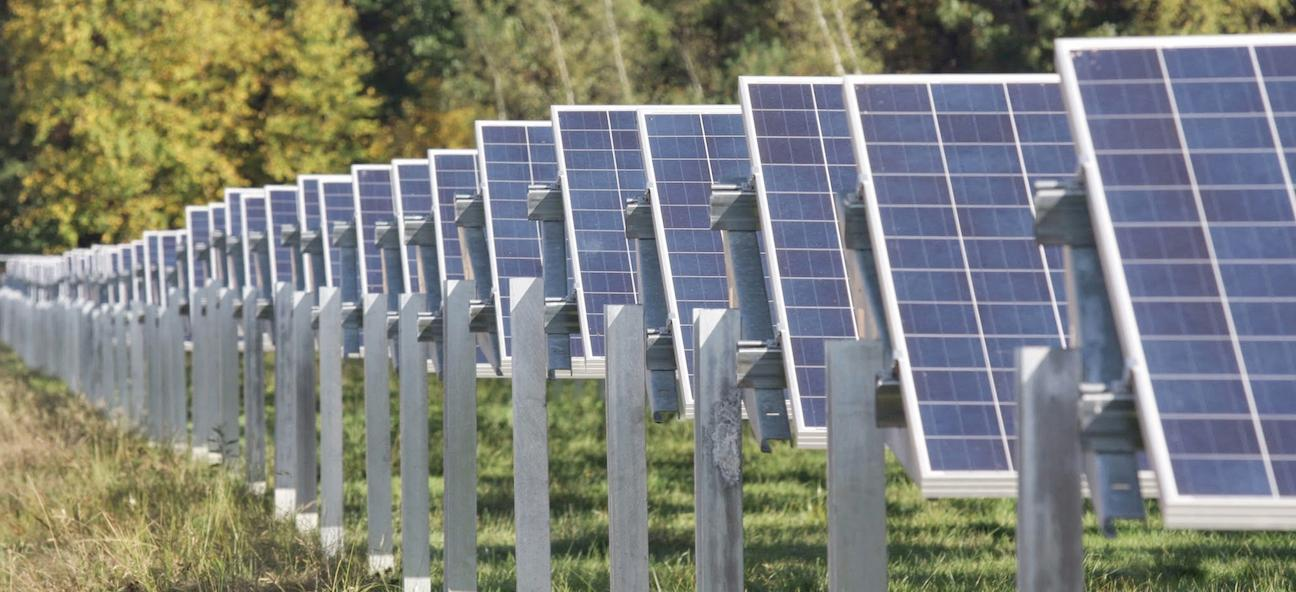 Skidmore's 2-Megawatt solar array