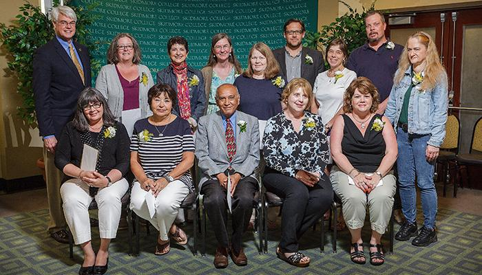 Employees with 25 years of service