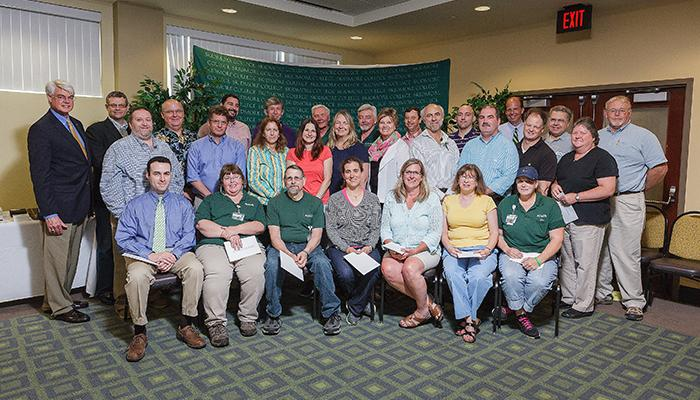 Employees with 15 years of service