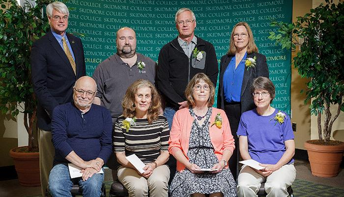 Employees with 30 years of service