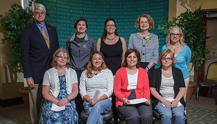 Employees with 20 years of service