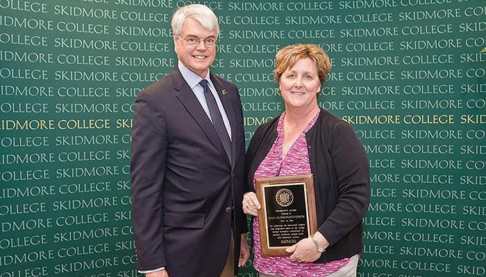Gail Cummings-Danson, winner of the President's Award