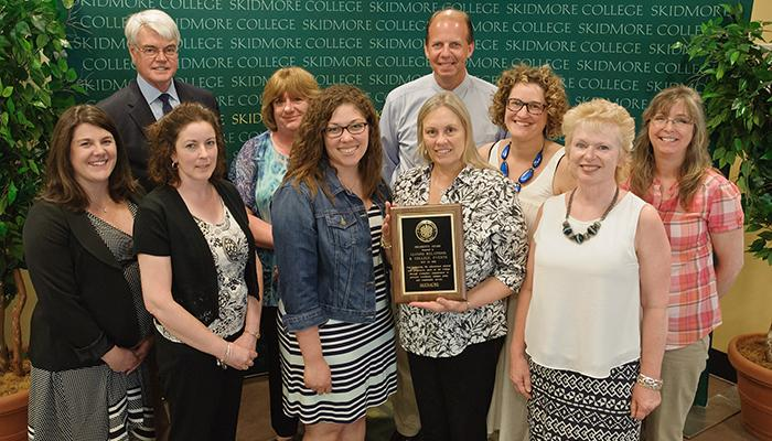 Alumni Relations, winners of the President's Award