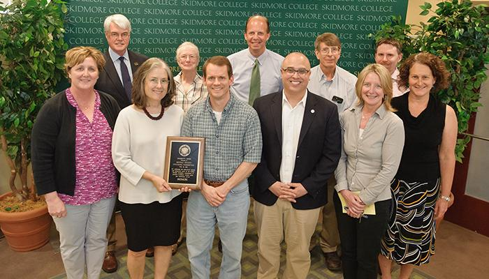 Middle States Accreditation Committee, winners of the President's Award