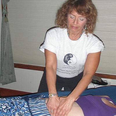Marian Bernstein, LMT 1987 (English and American Lit). Systemic Harmony Massage Therapy in California.