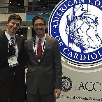 Evan Shalen, MD 2008 (on right). Resident in Internal Medicine at University of California San Francisco. Dan Washko, DO 2008 (on left). Resident in Internal Medicine at the University of Kansas.
