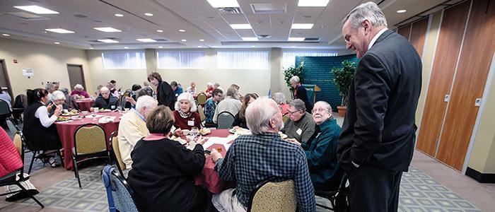 Retiree Luncheon, November 3, 2016 (photo by Eric Jenks '08)