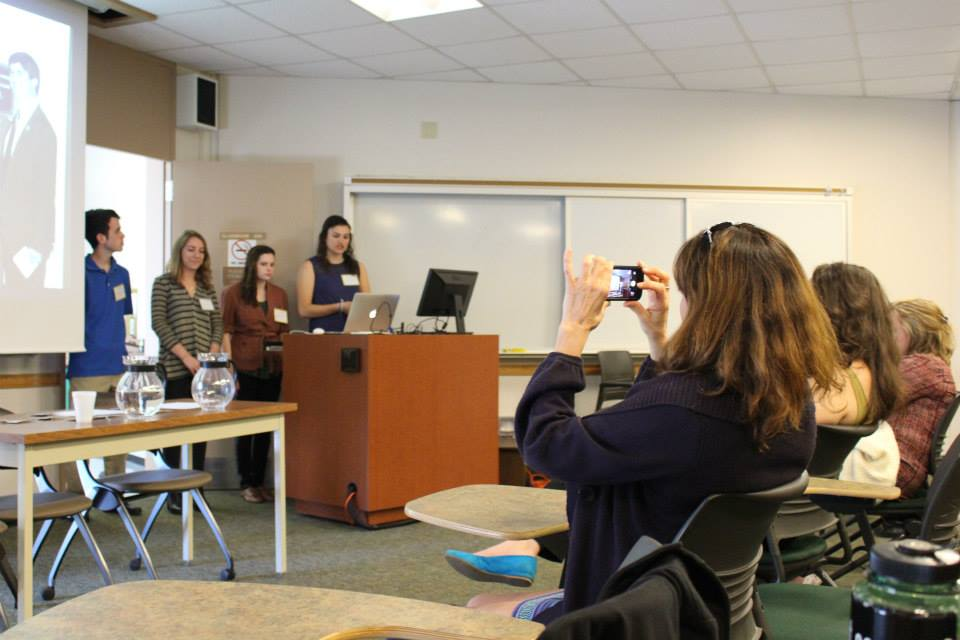 Spring 2015- Senior Center Students Presentation