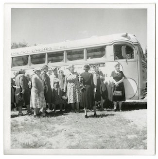 Senior Center bus photo