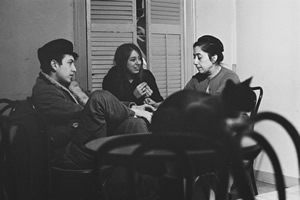 Caffè Lena, 1962: Bob Dylan, Suze Rotolo, and Lena Spencer