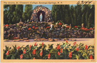 Postcard-St. Clement's grotto