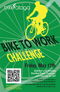 2013 bike to work poster