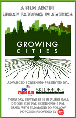 Growing Cities screening