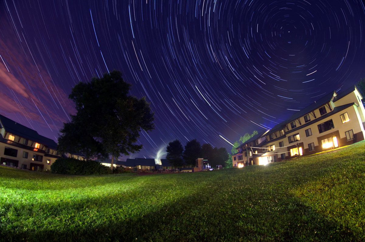 Star Trails by Nghia Lu '14