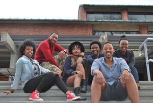Skidmore's Born Free cohort-students from South Africa