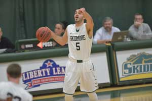 Aldin Medunjanin '16 gets it done for Skidmore.