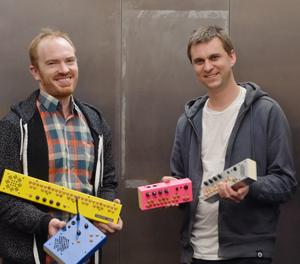 Alumni artists Critter and Guitari