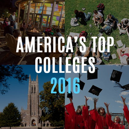 Best colleges of 2016