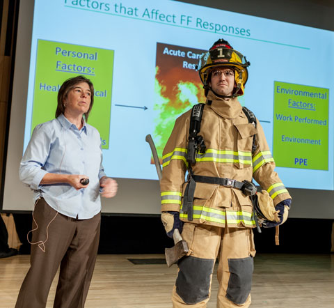 Denise Smith firefighter research
