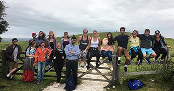 Prof. Andrew Lindner '03 in England
