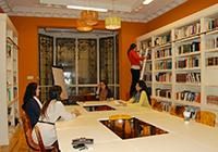 Madrid center library