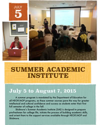 Summer Academic Institute