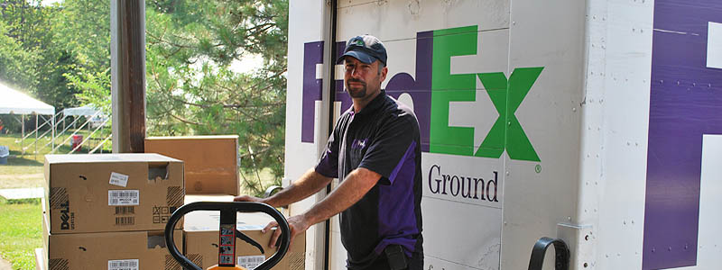 FedEx Ground delivery service