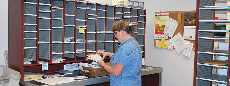 Post Office Internal Distributions