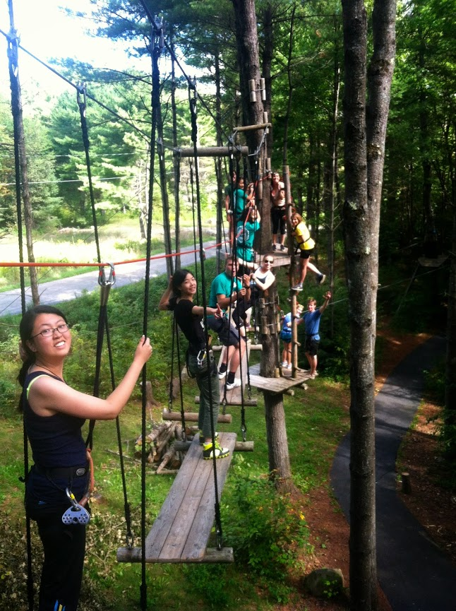 Adventure Challenge course for Pre-Orientation