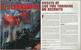 Effects of Live Fire Training