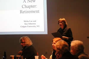 Professional Women and Retirement w Meika Loe and Kay Johnston