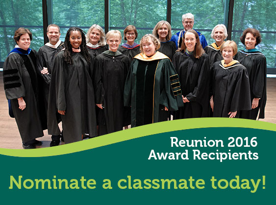 Nominate a classmate today