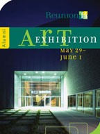 art exhibition brochure thumbnail