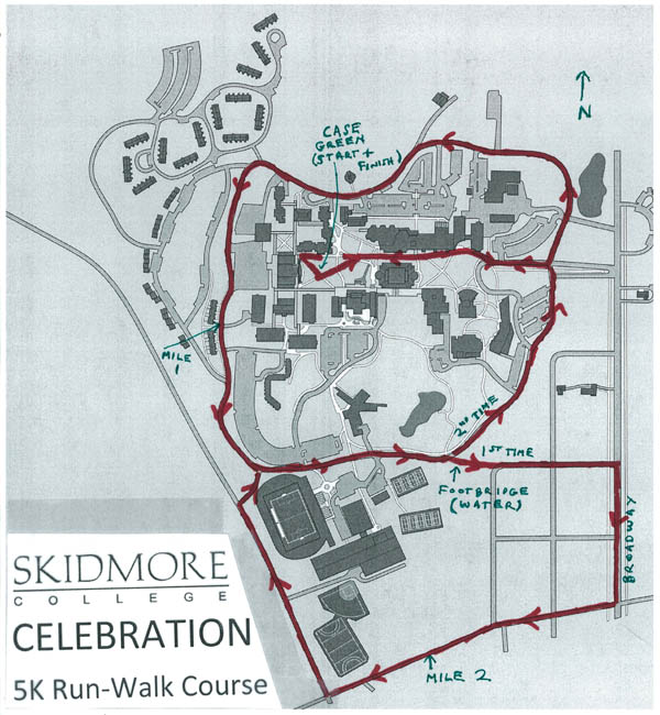 5K course map 2012