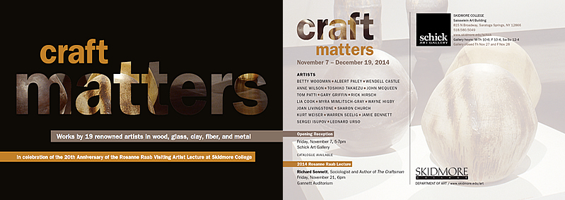 Craft Matters Postcard