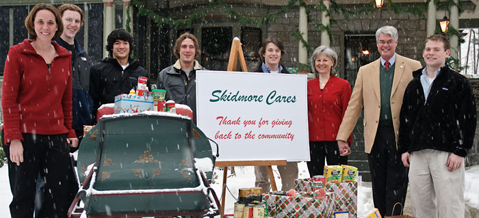 Participants in Skidmore Cares 2011