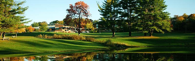 Reflections in Haupt Pond