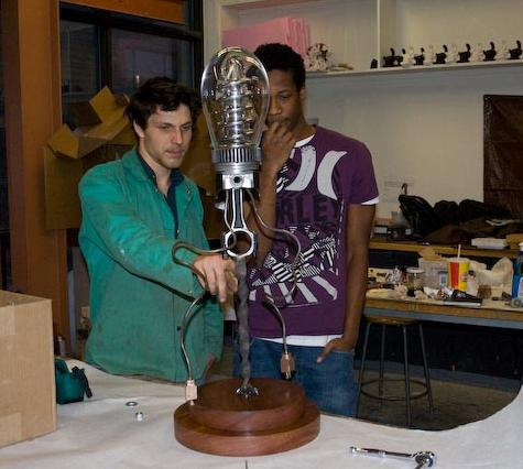 Creation of the 'Skidmore Unplugged' trophy