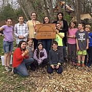 Environmental Education and Interpretive Trailblazing at Saratoga Independent School