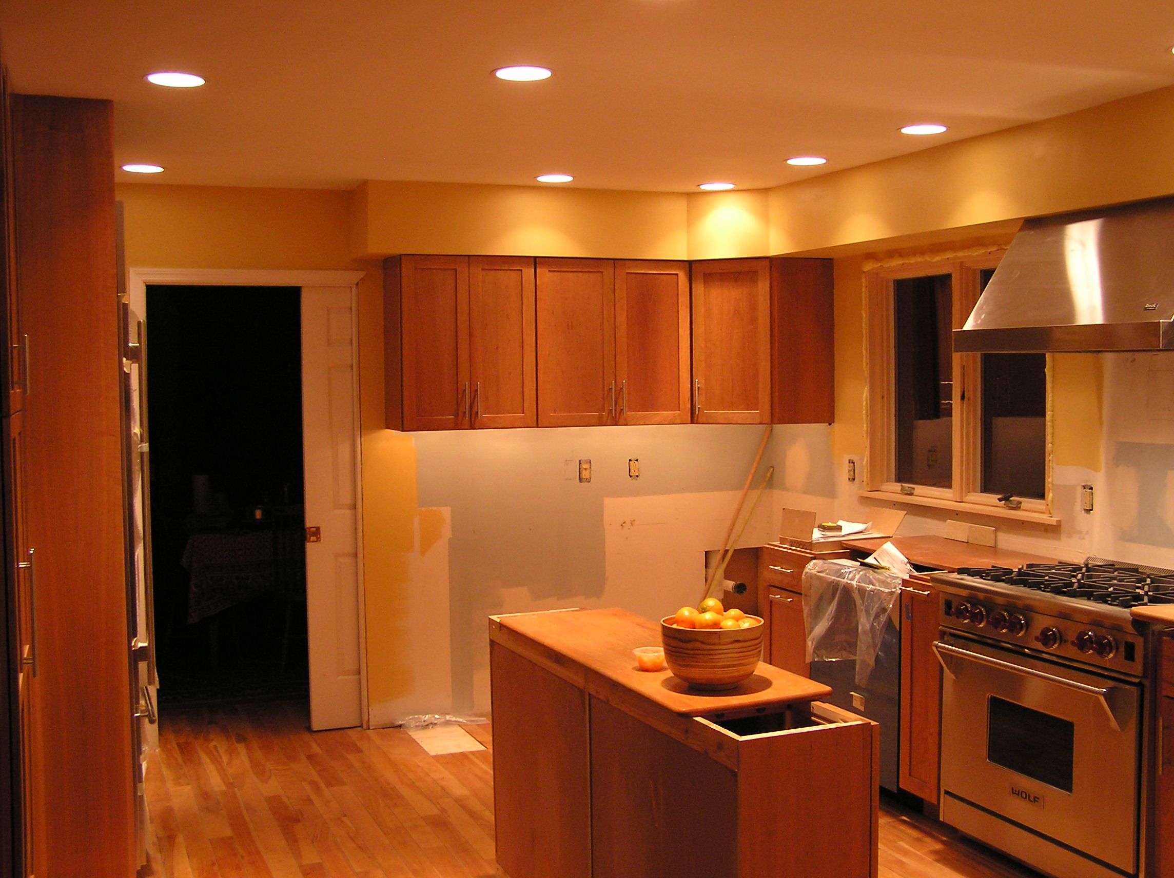 Trim Under Cabinets Thompson Kitchen January 2005