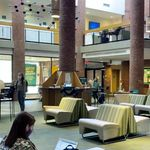 Campus life starts at Case Center. Enjoy a 30-second mini tour of this central student hub, lounge, dining, meeting, learning and distinctly Skidmore space.